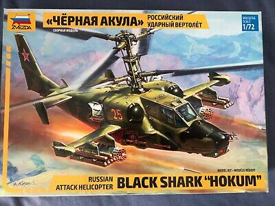 Zvezda 'Black Shark' Hokum Attack Helicopter 1:72  • 11.50£
