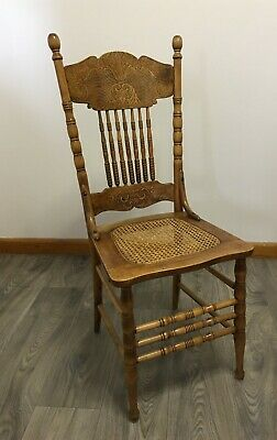 AU1025 • Buy Spindle Back Chair Set With Woven Rattan Seats & Custom Cushions