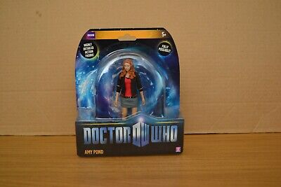 Doctor Who Amy Pond 5  Action Figure BBC Poseable Dr Who Collectible RARE #1 • 25£
