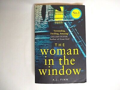 AU16 • Buy The Woman In The Window By Finn A. J. Paperback 2018 Crime Thriller Suspense