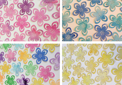Large Watercolour Flower Embellishments - Card Making - Scrapbook - Card Toppers • 2.75£