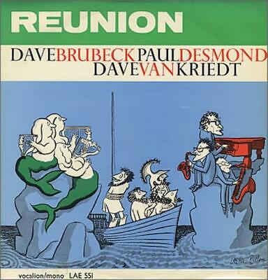 Dave Brubeck Reunion Vinyl LP Album Record UK LAE551 VOCALION 1963 • 32.70£
