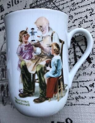 $ CDN14.14 • Buy Norman Rockwell Museum  The Toymaker  Collectible Mug, Vintage 1982