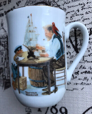 $ CDN14.14 • Buy Norman Rockwell Museum Collection  For A Good Boy  Porcelain Coffee Mug 1982