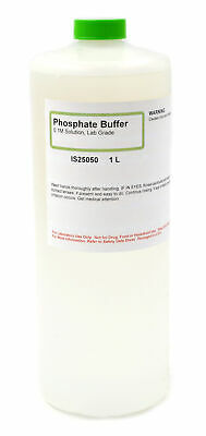 $23.65 • Buy Lab-Grade Phosphate Buffer, 0.1M, 1L - The Curated Chemical Collection