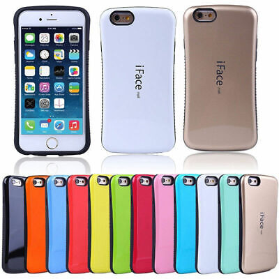 IFace Gel Shock-Absorbing Shockproof Bumper Cover Case IPhone And Samsung • 3.99£