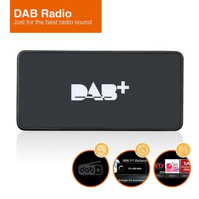 USB-port External DAB+ Box Adapter Radio Antenna FM Tuner For Android Car Radio • 45.51£