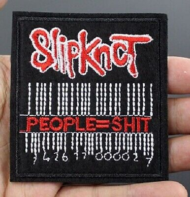 £2.03 • Buy Slipknot Iron On Patch Rock Music Band Patch Embroidered Jacket NEW Sew On