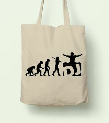 $14.99 • Buy DJ Evolution Reusable Shopping Bag Tote Planet Ethical Cloth Music Club Dance