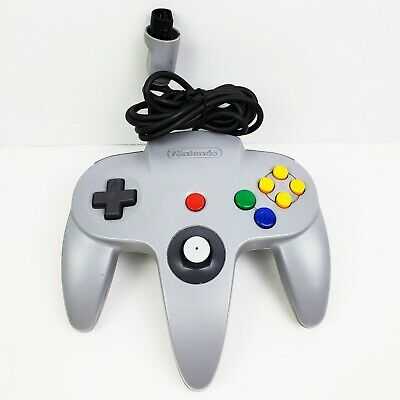 $ CDN43.82 • Buy Grey / Gray Nintendo N64 Game Controller - Tight Joystick - OEM Authentic Tested