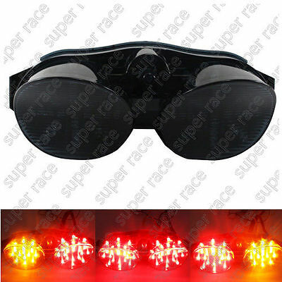 $21.99 • Buy For Yamaha YZF R6 LED Tail Brake Light Lens Integrated Turn Signals 2000-2002 MP