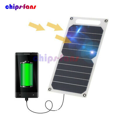 10W 5V Portable Solar Power Charging Panel USB Charger For Samsung IPhone Tablet • 10.99£