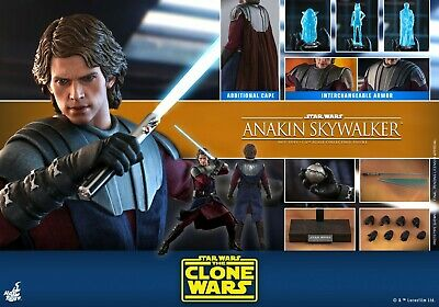 $ CDN426.93 • Buy Hot Toys 1/6th Anakin Skywalker Collectible TMS019 Star Wars The Clone Wars