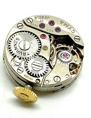 A Working Small CYMA 17 Jewel 494 5090 Movement • 14.99£