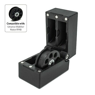 £14 • Buy Umarex Walther Rotex RM8 Magazine Case Magnet Box Holder Cover Air Rifle Pistol