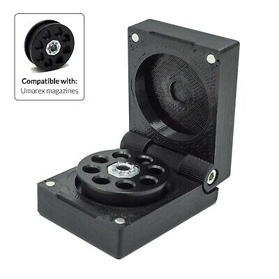 £14 • Buy Umarex Walther Rotex RM8 Slim Magazine Case Magnet Box Holder Cover Air Rifle