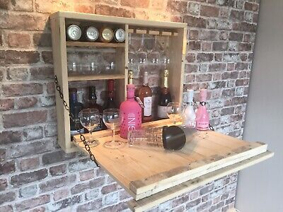 Wooden Outside Wall Hung Bar. Ideal For Beer, Wine And Gin. • 110£