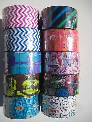 $4.99 • Buy Scotch 3M Duct Tape In Variety Of Designs 1.88  X 10 Yards New