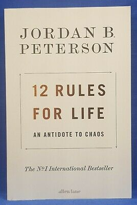 AU19.50 • Buy 12 Rules For Life By Jordan B Peterson (Softcover 2018)
