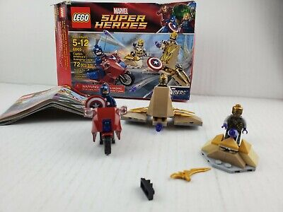 LEGO Marvel SuperHeroes Captain America's Avenging Cycle 6865  • 16.73£