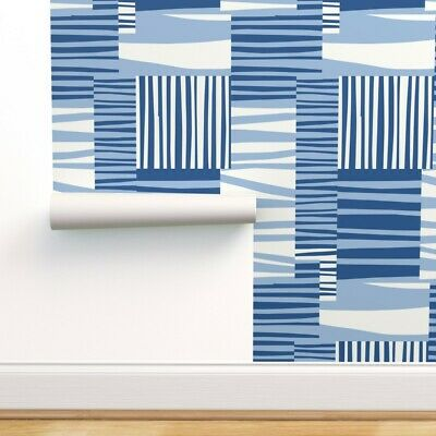 Wallpaper Roll Retro 50S Mid Century Mod Modern Eclectic Abstract 24in X 27ft • 159.43£
