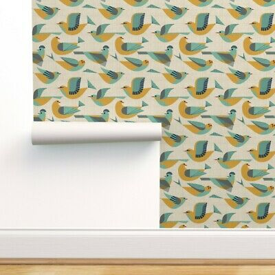 Wallpaper Roll Decor Wren Pigeon 50S Vodien 24in X 27ft • 159.43£