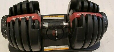 $ CDN421.81 • Buy Pre-Owned Bowflex SelectTech 552 SINGLE Adjustable Dumbbell Weight Free Ship