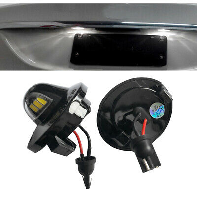 $10.48 • Buy 2x LED License Plate Light Assembly Replacemen For Ford F150 F250 F350 Explorer