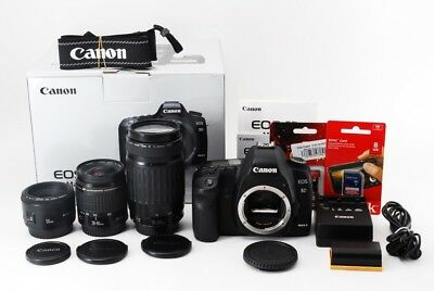 $ CDN1382.76 • Buy Canon EOS 5D Mark II 21.1MP 50/28-80/75-300mm Lens Set [Exc+++] W/Box,8GB [jkh]