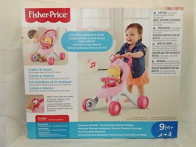 £177.18 • Buy Fisher Price Princess Mommy Stroll Along Musical Walker - Brand New/Sealed