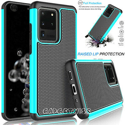 $ CDN6.89 • Buy Rugged Armour Silicone Hard Shockproof Case Cover For Samsung Galaxy S20 S10 S9