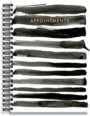 Hairdresser Salon/Beauty Appointment Book - 3 Assistant - Indian Ink • 21.50£