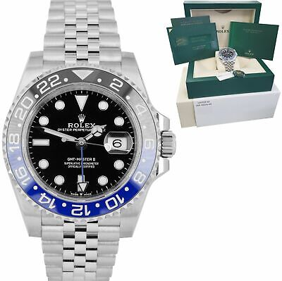 $ CDN21550.90 • Buy NEW JULY 2020 Rolex GMT Master II Batman Black Blue SS Ceramic 40mm 126710 BLNR