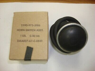 $22.50 • Buy NOS!! M151, M151a1, M151a2 Horn Switch, Military Parts NSN: 2590-973-3186