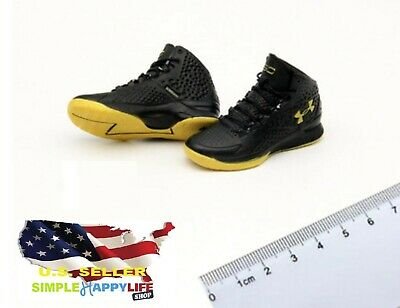 $17.99 • Buy 1/6 Male Sneakers Basketball Black Shoes 12  Phicen Enterbay Kobe Hot Toys ❶USA❶