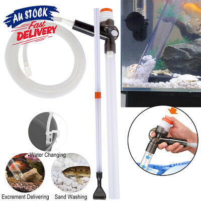 AU18.66 • Buy Aquarium Fish Tank Siphon Cleaner Cleaning Tools Maintenance  Syphon Kit