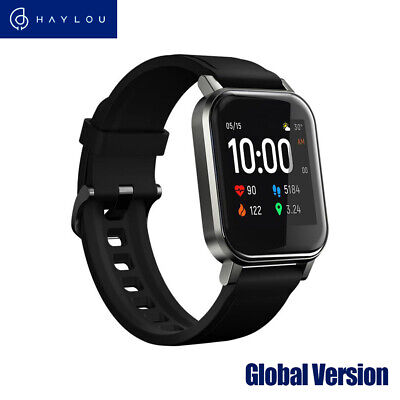 AU46.41 • Buy Haylou LS02 BT5.0 Smart Watch Wristband Heart Rate Fitness Tracker Bracelet G7N4