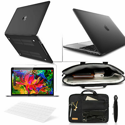 $31.99 • Buy Macbook Pro Air 13 15'' Touch Bar 4 In 1 Matte Hard Case KB Laptop Carry BagFilm