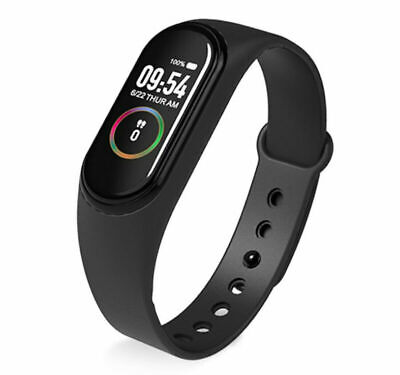 $ CDN6.01 • Buy FCLUO M4 Smart Bracelet Waterproof Smart Watch Bluetooth Watch Wristband