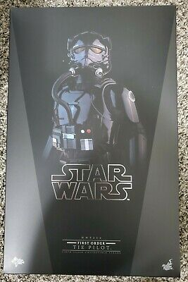 $200 • Buy Hot Toys MMS 324 Star Wars : The Force Awakens First Order TIE Pilot