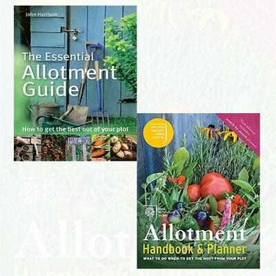 RHS Allotment Handbook,The Essential Allotment Guide 2 Books Collection Set NEW • 19.99£