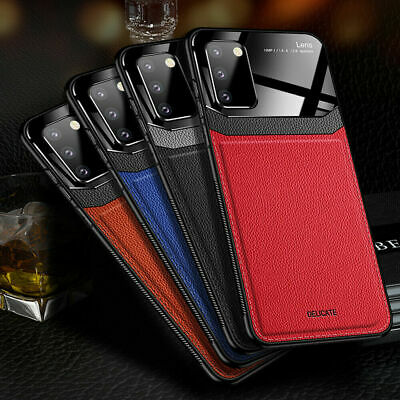 $ CDN7.68 • Buy For Samsung S20 Plus Ultra/S10/S9/A51/A71 Ultra Leather Rubber Slim Case Cover