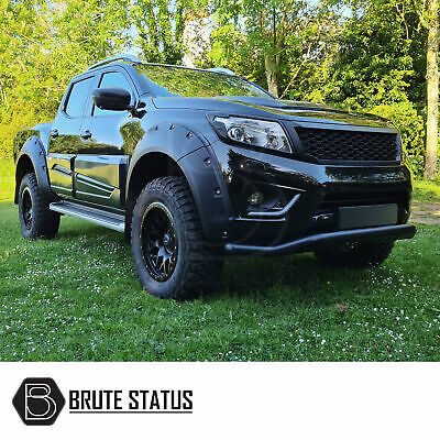 For Nissan Navara NP300 2015+ Wide Body Wheel Arches Fender Flares Riveted Style • 239.99£