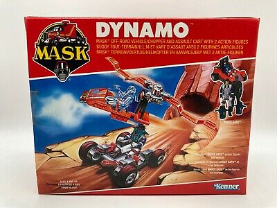 $99.99 • Buy M.A.S.K Dynamo Vehicle & Figures Boxed Sealed Vintage MASK 1980s MISB Kenner Toy