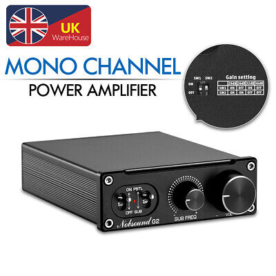 Mini Mono Channel Subwoofer Full-Frequency Digital Amplifier Desktop Audio Amp • 42.95£