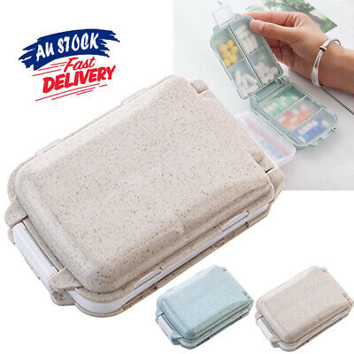 AU8.99 • Buy 7 Days Pill Box Organiser  Case Boxes Weekly Container Storage Medicine Tablet