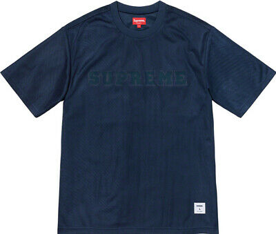 $ CDN145.33 • Buy Supreme Dazzle Mesh S/s Top Navy, Size Large Ss20 Week 17 (authentic) Brand New