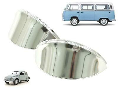 AU37.30 • Buy Vw Beetle / Kombi Headlight Stainless Steel Eye Brows Pair Left And Right
