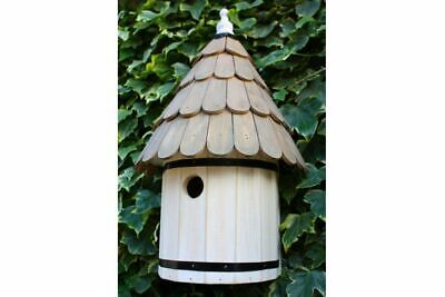 Dovecote Bird Box | Wooden Shabby Chic House Nesting Style Wall Mounted Garden • 42.99£