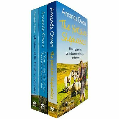 The Yorkshire Shepherdess Series 3 Books Collection Set By Amanda Owen New • 23.93£